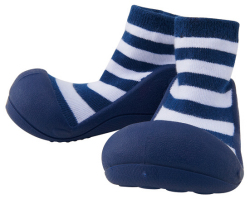 baby feet navy