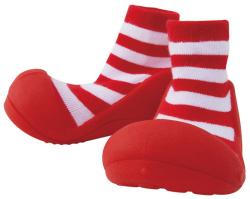 beby feet red
