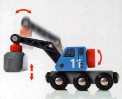 BRIO レール&ロード採石セット